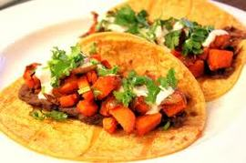 sweet potato tacos